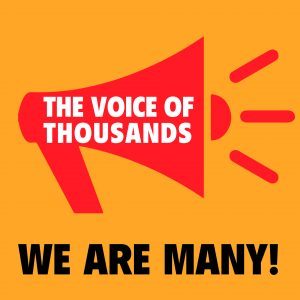 Logo_The voice of thousands