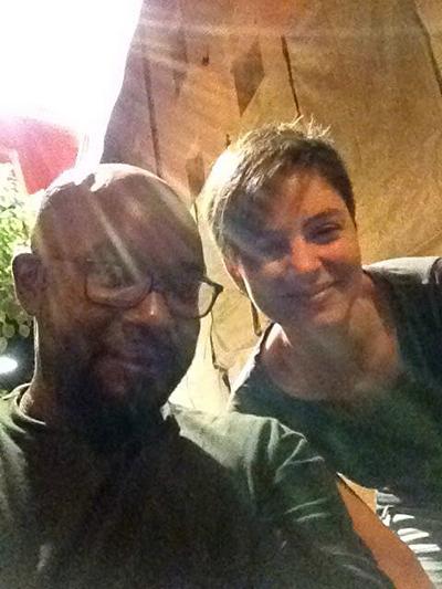 Weltsprache Selfie. (Como, 27.08.2016)